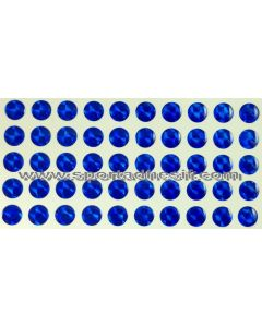 50 Stickers Autocollants RESIN STRASS pour engins «BLEU ROYAL Saphir»